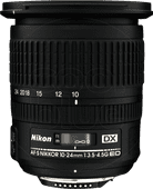 Nikon AF-S 10-24mm f/3.5-4.5G ED DX Groothoeklenzen voor Nikon camera