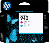 HP 940 Printkop Magenta en Cyaan