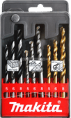 Makita 9-piece Drill Bit Set Wood/Stone/Metal D-08660