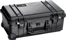 Pelicase Trolley 1510 Black with Pick 'n Pluck Foam