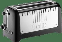Dualit Lite Gloss 2 Slot Long Black