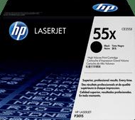 HP 55X Toner Cartridge Black (High Capacity)