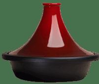 Le Creuset Tajine 31 cm Kersenrood