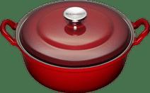 Le Creuset Faitout Dutch Oven/Casserole 32cm Cherry Red