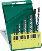 Bosch HSS-R / stone core set 9-piece