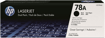 HP 78A Toners Zwart Duo Pack