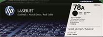 HP 78AD LaserJet Toner Black Dual Pack (CE278AD)
