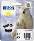 Epson 26 L Cartridge Yellow (C13T26144010)