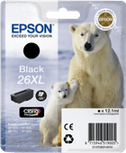 Epson 26 XL Cartridge Black (C13T26214010)