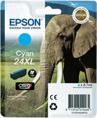 Epson 24XL Cartridge Cyaan