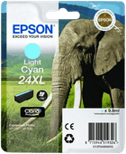 Epson 24XL Cartridge Lichtcyaan