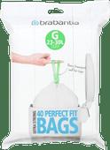 Brabantia Trash Bag Code G - 23-30 Liters (40 units)