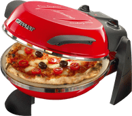 Ferrari Pizza Oven Delizia Red