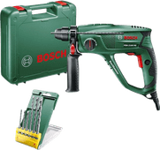 Bosch PBH 2100 RE Hammer drill + 6-piece SDS-Plus drill set