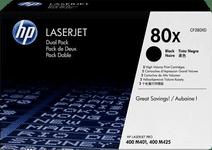 HP 80X Toner Zwart Duo Pack (Hoge Capaciteit)