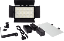 Falcon Eyes LED Lamp Set Dimmable DV-384CT-K2