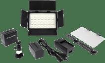 Falcon Eyes LED Lamp Set Dimmable DV-216VC-K2 incl. Battery