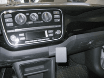 Brodit ProClip Volkswagen UP/Seat Mii vanaf 2012 Haakse Bevestiging