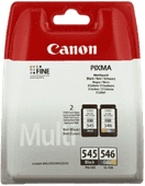 Canon PG-545/CL-546 Cartridges Combo Pack