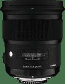 Sigma 50mm f/1.4 DG HSM Art Nikon 50mm lens