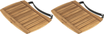 Big Green Egg Side Shelf Acacia Wood Large (2x)