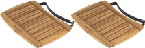 Big Green Egg Side Shelf Acacia Wood Medium (2x)
