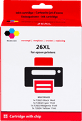 Pixeljet 26XL Cartridges Combo Pack