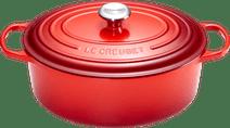 Le Creuset Ovale Stoof-/Braadpan 27 cm Kersenrood