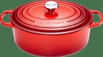 Le Creuset Ovale Stoof-/Braadpan 29 cm Kersenrood