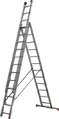 Altrex All Round 3-Part Reform Ladder AR 3080 3x12