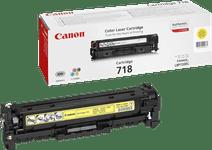 Canon 718 Toner Cartridge Yellow