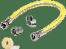 Scanpart Gasslang RVS Flex 125 cm
