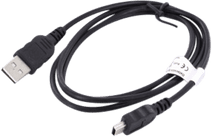 Mobiparts Mini USB 1m Black