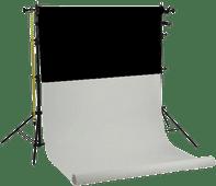 Falcon Eyes SPK-2W incl. 2 Rollen Zwart/Wit 1,35 x 11 m