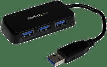StarTech Draagbare 4-poorts SuperSpeed USB 3.0 hub zwart