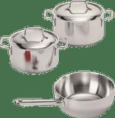 Demeyere Apollo 3-piece Cookware Starter Set