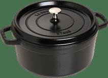 Staub Round Dutch Oven 24cm Black