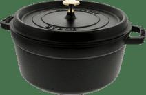 Staub Round Dutch Oven 26cm Black