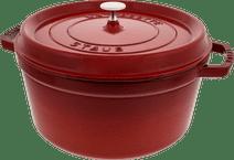 Staub Round Dutch Oven 28cm Cerise