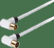 König Coax Antennekabel 120 dB 10 meter wit