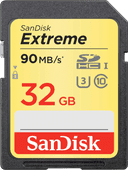 Sandisk SDHC Extreme 32GB 90MB/s Class 10