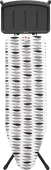 Strijkplank B 124x38 cm Pauline met solide stoomunithouder