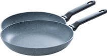 BK Granite Frying Pan Set 24+28cm