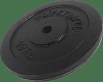 Tunturi Plate 1x 10 kg Black