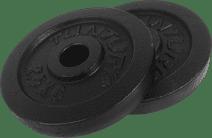 Tunturi Plates 2x 2.5 kg Black