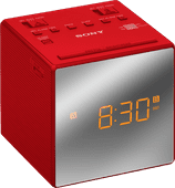 Sony ICF-C1T Red