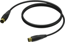 Procab CLD400 MIDI Kabel 0,5 Meter