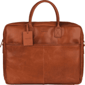 Burkely Vintage Max Worker 17 inches Cognac
