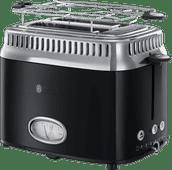 Russell Hobbs Retro Classic Black Toaster