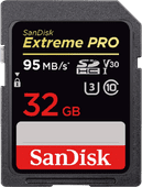 Sandisk SDHC Extreme Pro 32GB 95MB/s Class 10